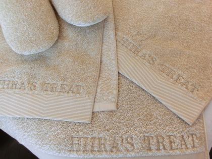 HIIRA'S  TREATタオルセット