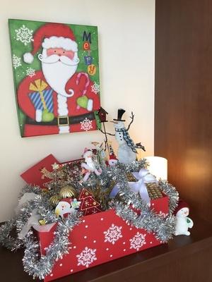 クリスマスのおもちゃ箱